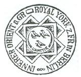Siegel des Inneren Orients Berlin